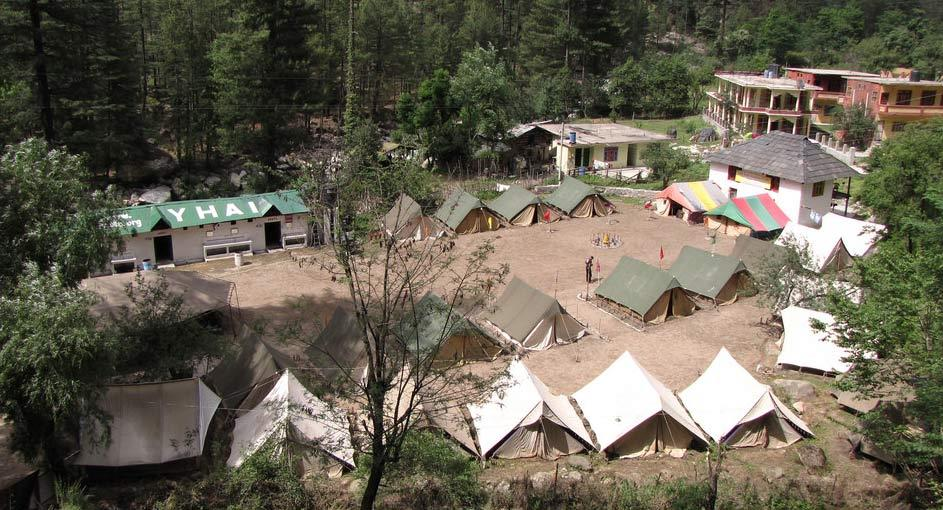 Base camps in kasol
