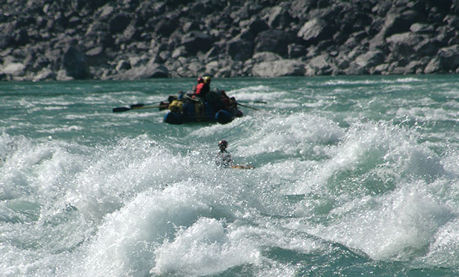 River Rafting destination in India