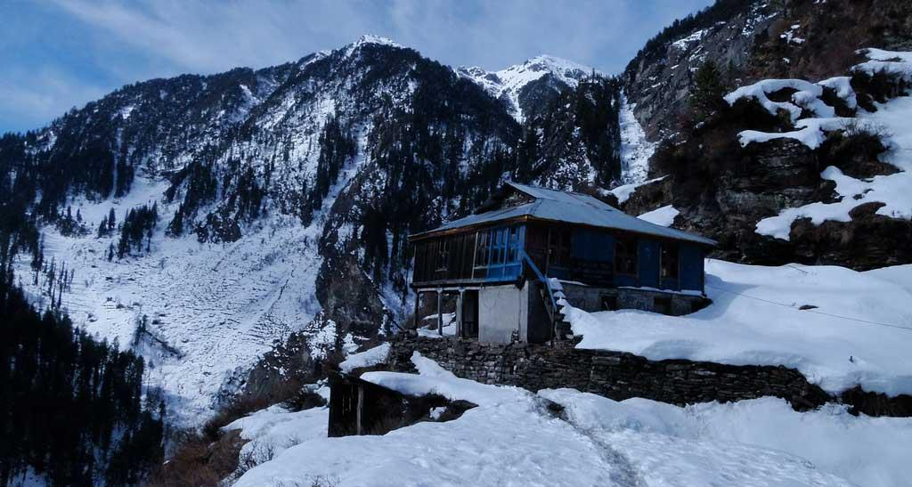 A house in manali hills