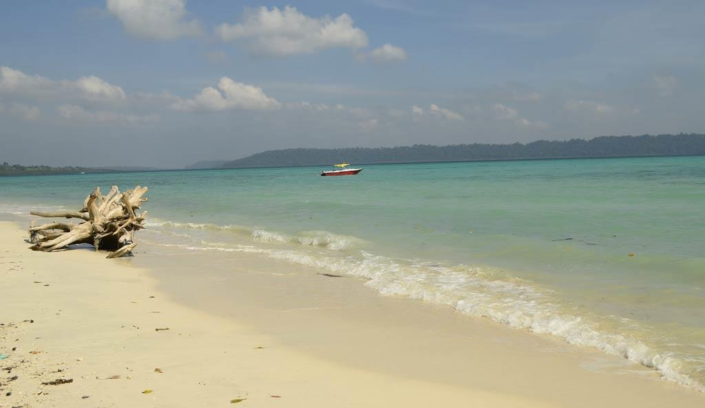 Havelock beach in Andaman Islands