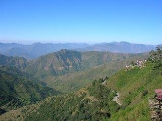 View of Chakrata in Uttarkhand