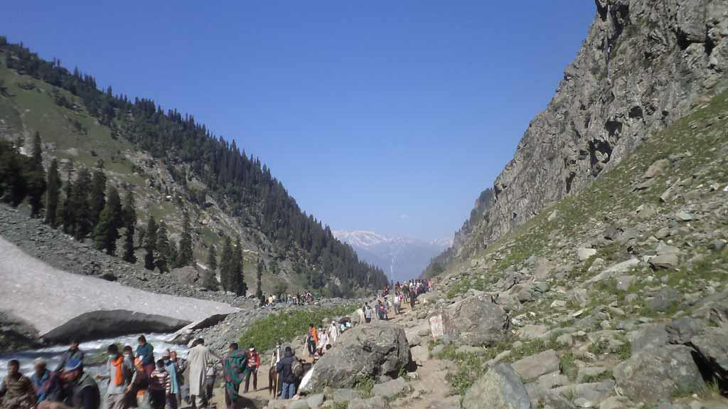 Way to Amarnath yatra 2012