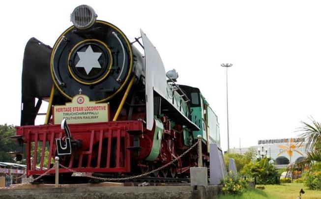 Trichirappalli Railway Station Entrance