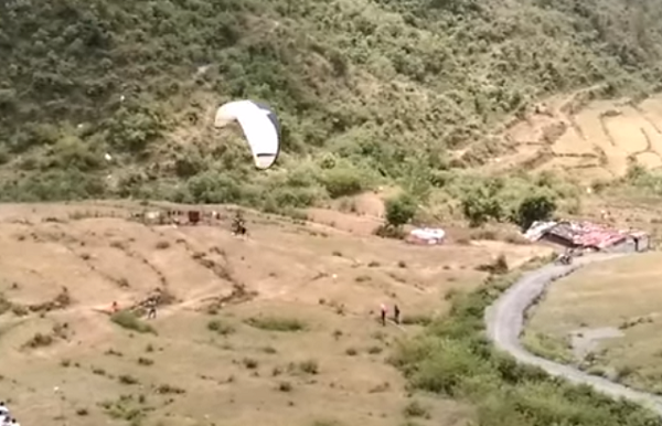 Mussoorie Paragliding destination in India