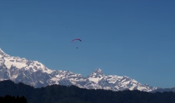 Sikkim Paragliding destination in India