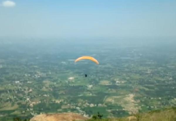 Yelagiri hills tamil nadu Paragliding destination in India