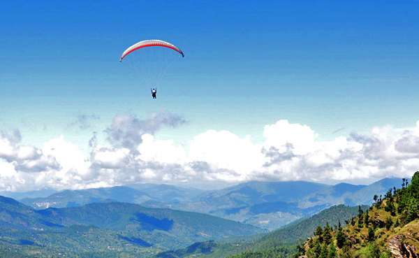 Pavana Paragliding destination in India