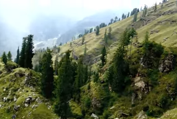 Manali Paragliding destination in India