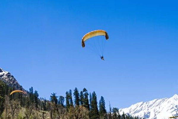 Nainital Paragliding destination in India