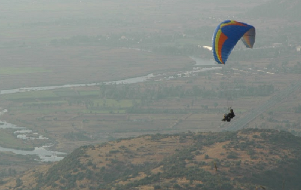Ranikhet Paragliding destination in India