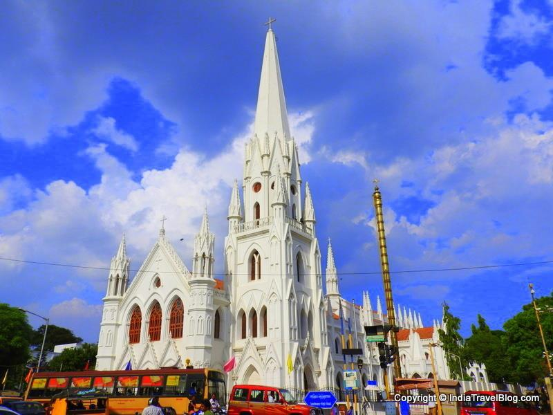 Santhome Cathedral Basilica Church Chennai