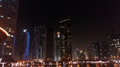 Dubai - Marina by night