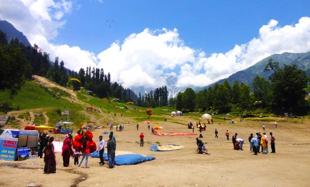 adventure sports experience in manali