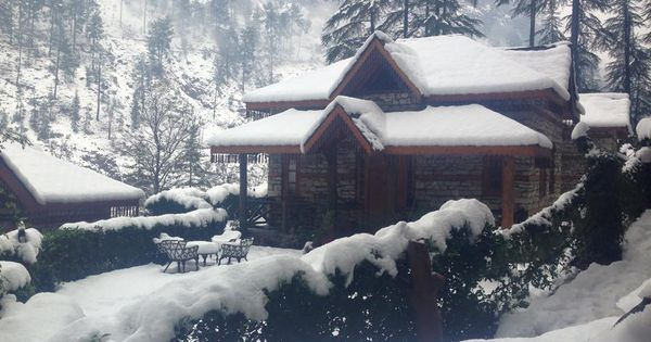 kasol a snowfall destination