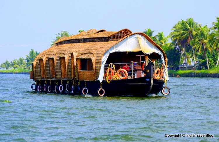 Alleppey house boat experience