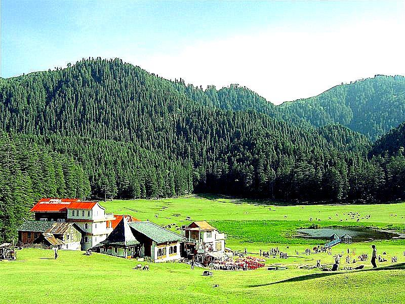 Khajjiar, Himachal Pradesh 10 Less popular Hillstation in India