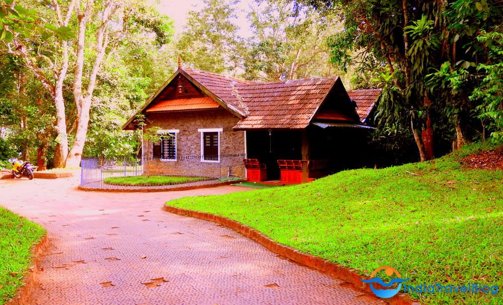 Location of Lake Palace in Thekkady