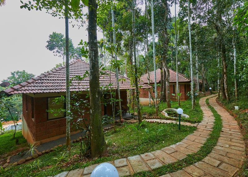 Wayanad Raindrops Resorts Family Resort in Wayanad