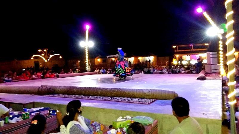 Dubai Travel Diary-Tanoura Show