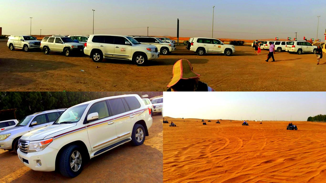 Dubai Travel Diary -Dune Bashing
