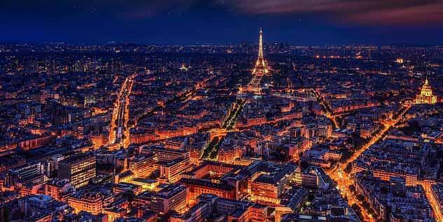 New year eve celebration Paris