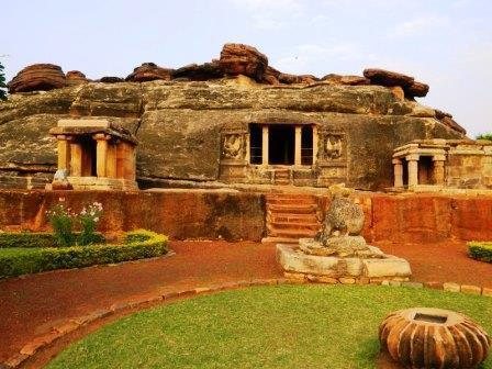 Badami Temple Sculpture
