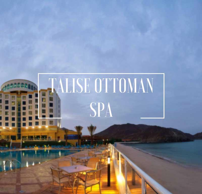 Attractions in Dubai Talise Ottoman Spa