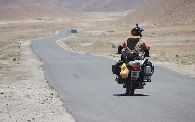 Rider- Reason to Visit Ladakh