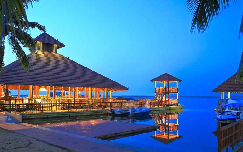 Poovar Island Resort-Best destination wedding venue kerala