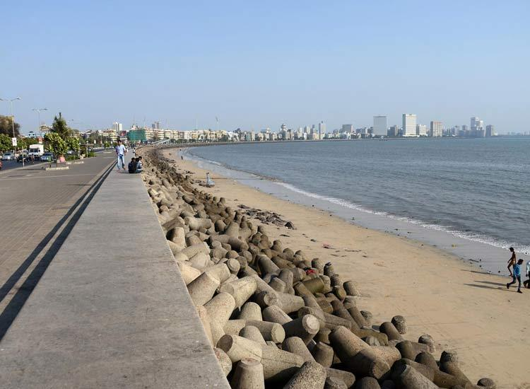 Beaches in Maharashtra-Marine-drive-Beach