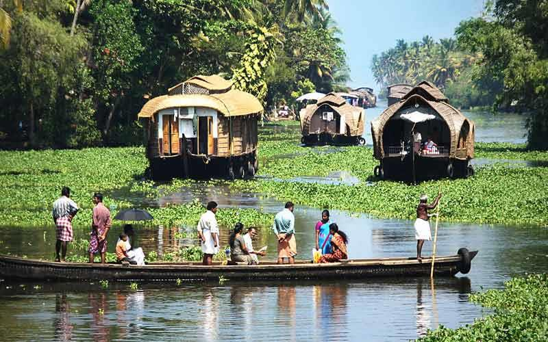 kochi-backwaters in kerala