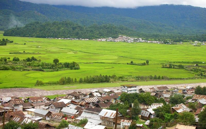 ziro -arunachal-pradesh - Places to Visit in North East India