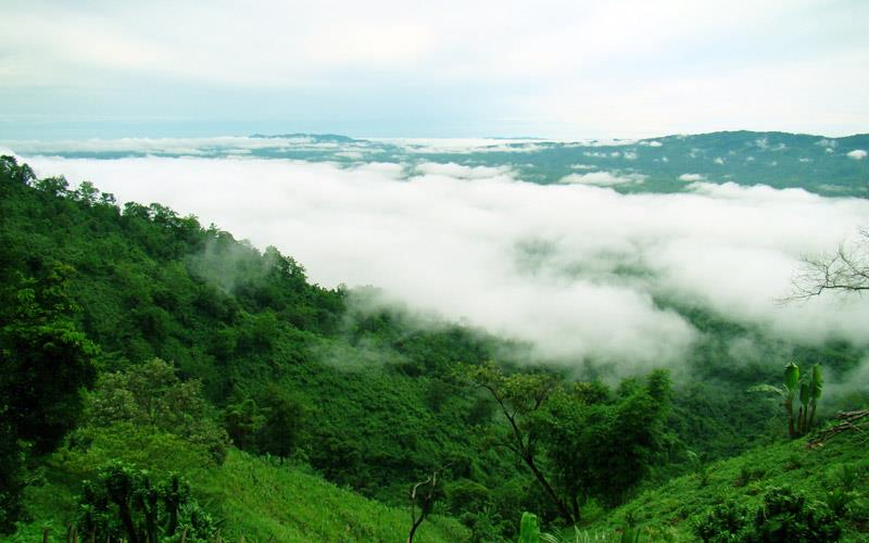 Jampui-hills-tripura - Places to Visit in North East India
