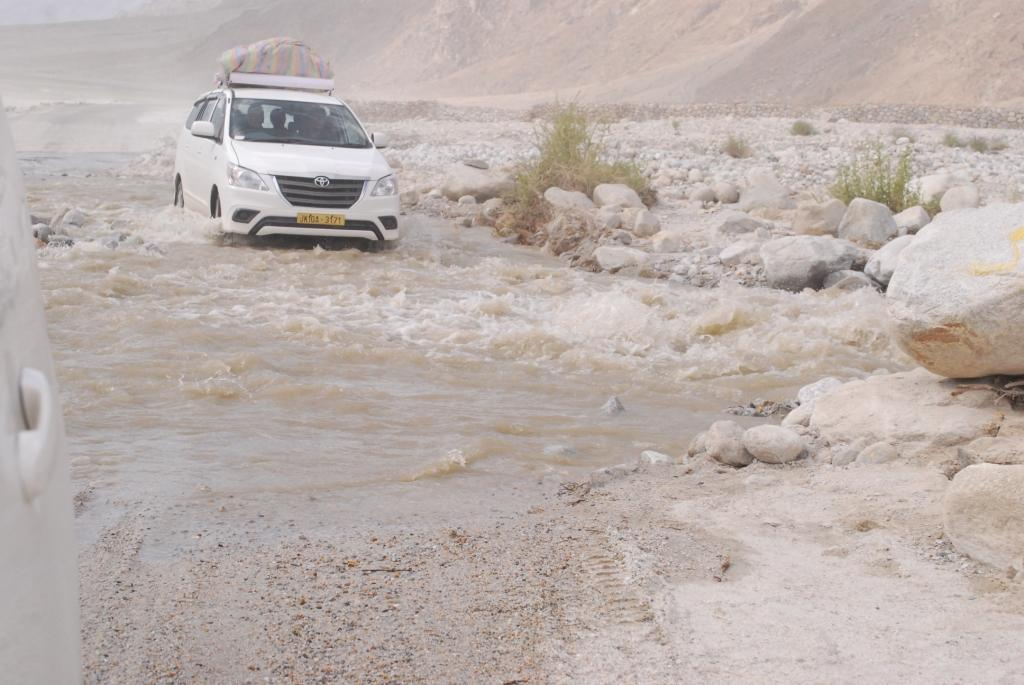 flood- ladakh road trip
