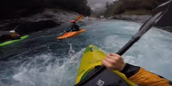 Kayak in Nelson