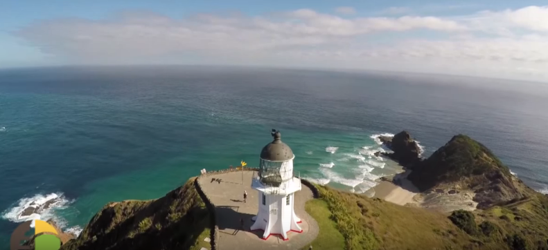 Battle of Oceans at Cape Reinga