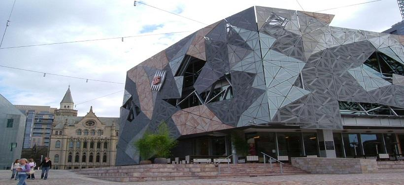 Federation Square-Tourist Destinations In Melbourne