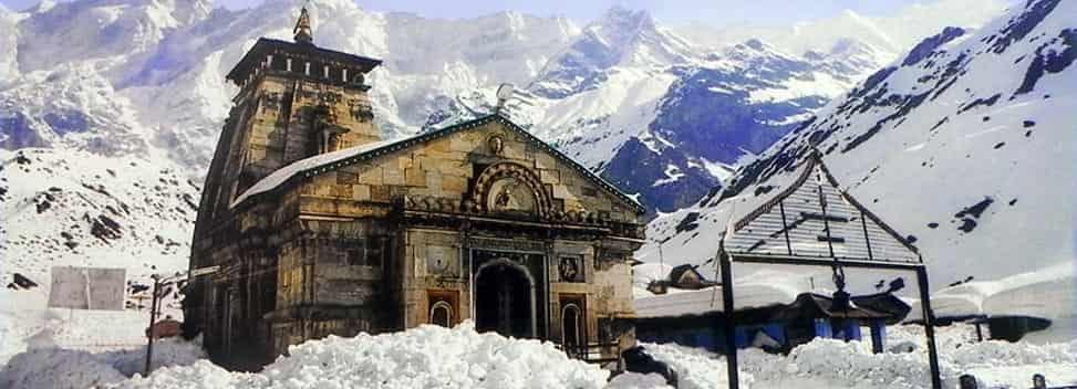 Kedarnath- Famous Shiva Temples in India