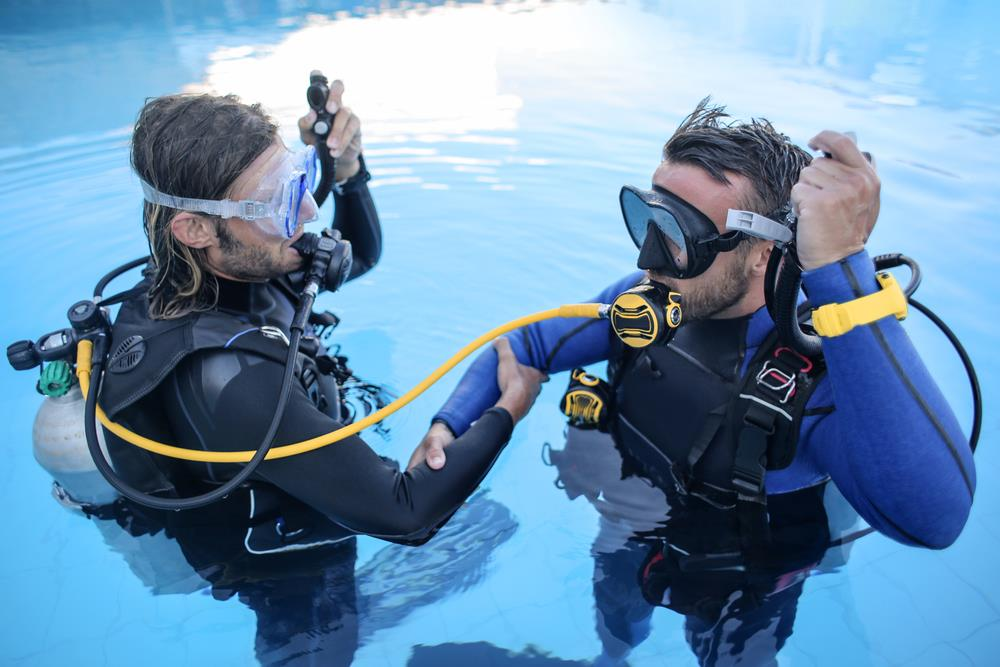 scuba diving training in Kerala