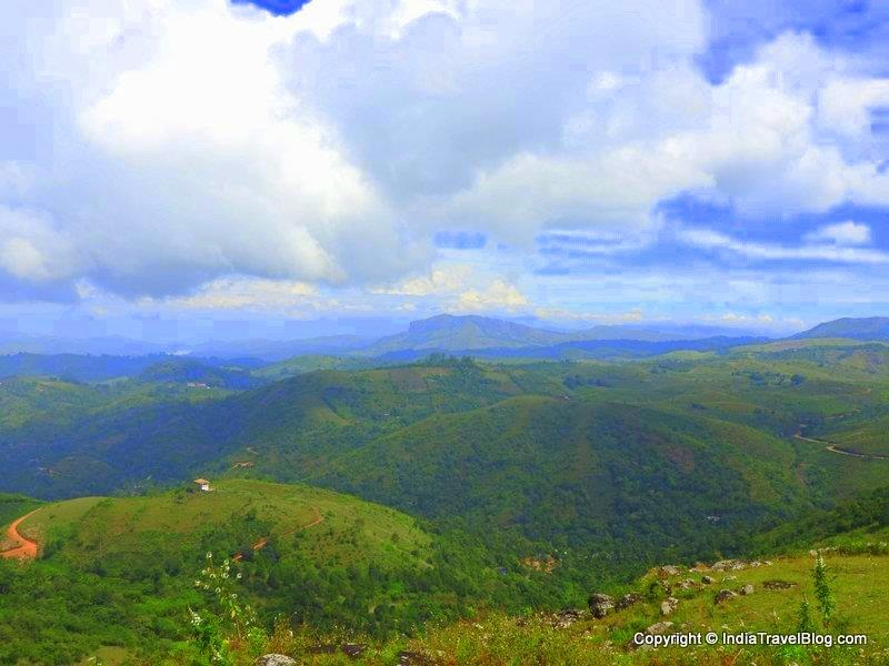 A view from the top of Moon hill, Vagamon