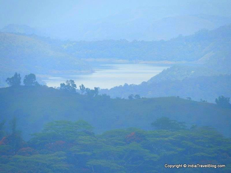 Idukki Dam view from Moon hill