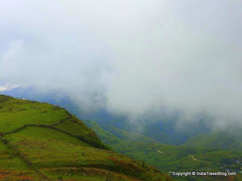 A beautiful view from Vagamon Moon Hill