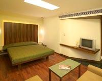 Guest Rooms at Hotel Central Park Studios near Shaniwar Wada in Pune