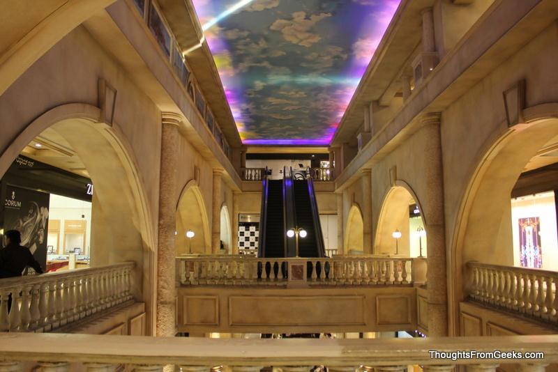 Beautiful interior work at UB City