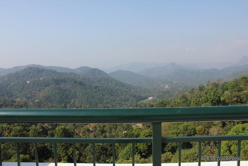 Fabulous view from Munnar Tea Country Resort