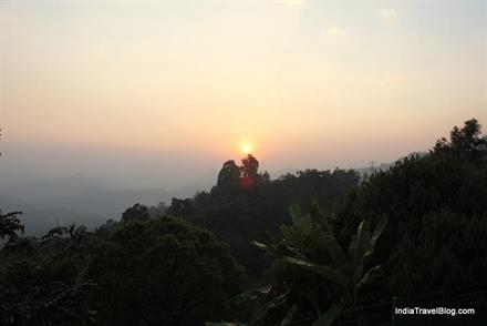 Sunset view - Munnar Tea Country Resort