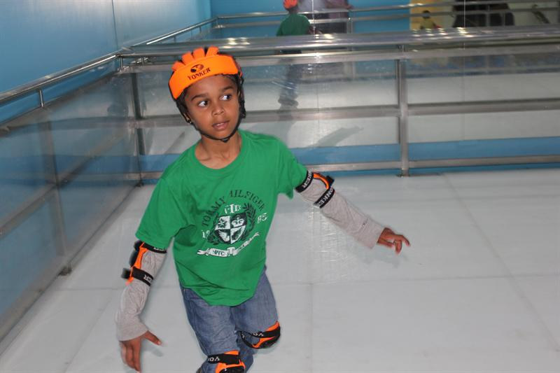 Ice Skating at Bangalore