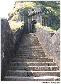 Ganesh Darwaza ( Main door) of Lohgad Fort