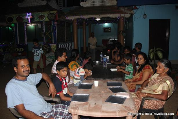 Cherai Beach Restaurants