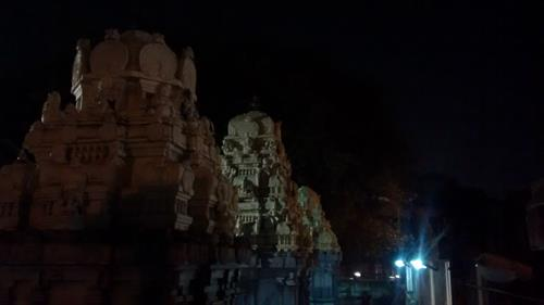 Rear View of Gopuram